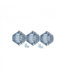 Biconi Swarovski® 5328 4 mm 266 Denim Blue (60 pezzi)