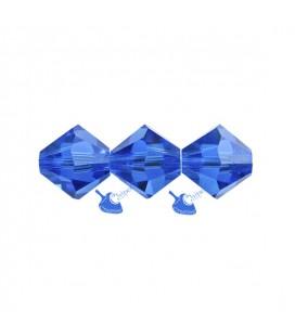 Biconi Swarovski® 5328 4 mm 243 Capri Blue (60 pezzi)