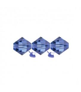 Biconi Swarovski® 5328 4 mm 206 Sapphire (60 pezzi)