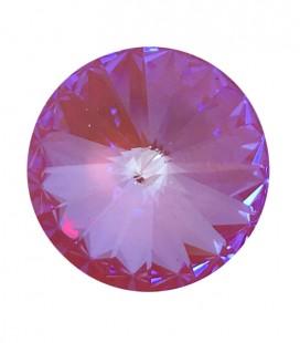 Rivoli Swarovski® 1122 12 mm Crystal Lotus Pink DeLite (1 pezzo)