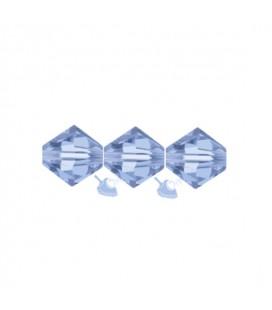 Biconi Swarovski® 5328 4 mm 211 Light Sapphire (60 pezzi)