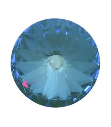 Rivoli Swarovski® 1122 12 mm Crystal Laguna Delite (1 pezzo)