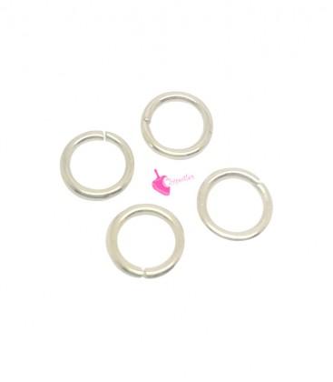 Anellini Apribili 7x1,2 mm Acciaio Inox colore Oro Chiaro (50 pezzi)