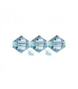 Biconi Swarovski® 5328 4 mm 202 Aquamarine (60 pezzi)