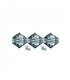 Biconi Swarovski® 5328 4 mm 217 Indian Sapphire (60 pezzi)