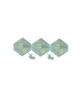 Biconi Swarovski® 5328 4 mm 390 Pacific Opal (60 pezzi)