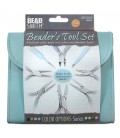 Set 8 Pinze per Bigiotteria Beadsmith® con Custodia Azzurra