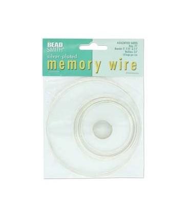 Filo Armonico 5 Misure Argento Memory Wire Silver Plated Beadsmith®