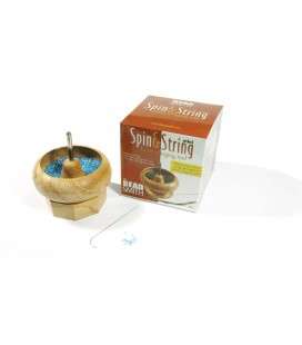 Mulinello Infila Perline Legno Spin and String Mini Beadsmith®