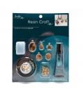 Kit Resina UV per Bigiotteria Resin Kit Jewelry Starter