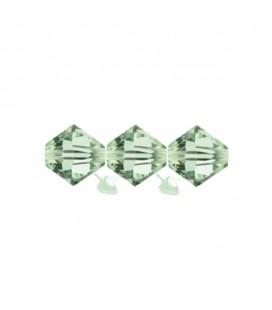Biconi Swarovski® 5328 4 mm 238 Chrysolite (60 pezzi)