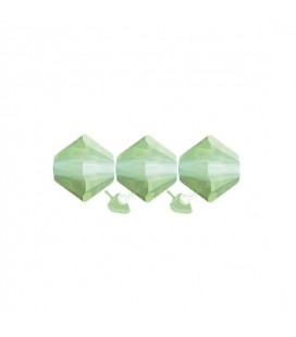 Biconi Swarovski® 5328 4 mm 294 Chrysolite Opal (60 pezzi)