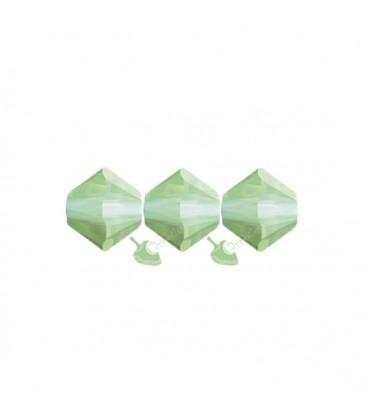 Biconi Swarovski 5328 4 mm 294 Chrysolite Opal