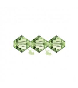 Biconi Swarovski® 5328 4 mm 214 Peridot (60 pezzi)