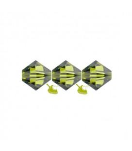 Biconi Swarovski® 5328 4 mm 228 Olivine (60 pezzi)
