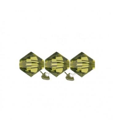 Biconi Swarovski 5328 4 mm 550 Khaki