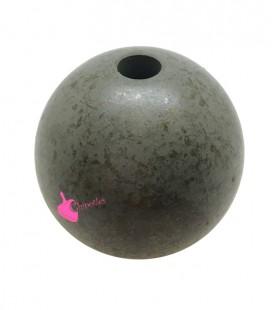 Perla Resina 30 mm Verde Effetto Spugna