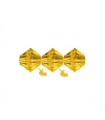 Biconi Swarovski 5328 4 mm 292 Sunflower