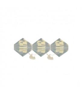 Biconi SW 5328 4 mm 383 Light Grey Opal (60 pezzi)