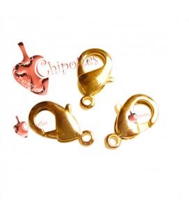 Moschettone Ottone 12 mm color Oro