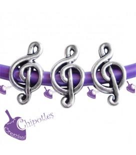 Perla Foro Largo Chiave di Violino (20 pezzi)