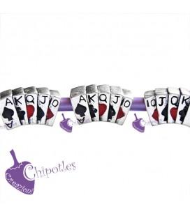 Perle Foro Largo Carte da Poker (5 pezzi)