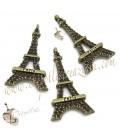 Ciondolo Torre Eiffel Paris 31x17 mm colore Bronzo Antico