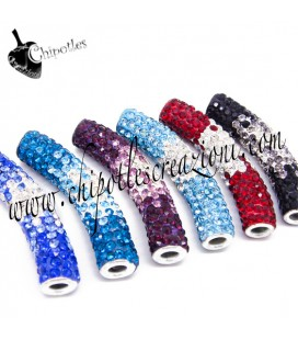 Tubi Strass Misti 47x10 mm