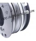 Fettuccia PVC 7 mm Grigio Metallizzato