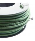 Cordoncino PVC 4 mm Forato colore Verde Militare (1 metro)