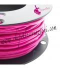 Cordoncino PVC 4 mm Forato Color Fucsia (1 metro)