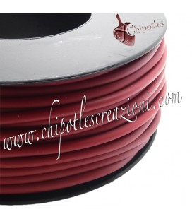 Cordoncino PVC 4 mm Forato Color Ruggine