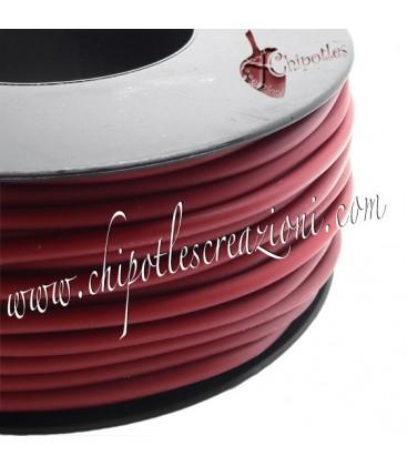 Cordoncino PVC 4 mm Forato Color Ruggine