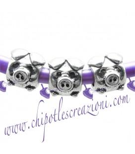 Perle Foro Largo Maialino (10 pezzi)