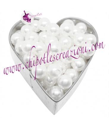 Perle Bianche 6 mm Acrilico