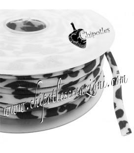 Tubolare Lycra Fantasia Dalmata 5 mm (1 metro)