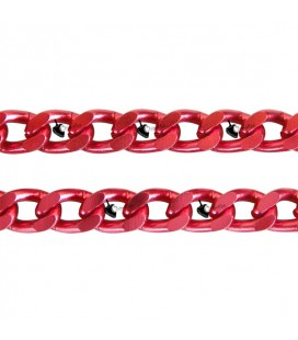 Catena Groumette Rossa 6x10 mm Alluminio (50 cm)