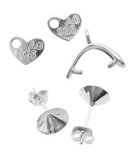 925 Sterling Silver Components