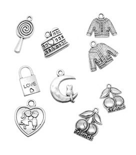 Antique Silver Pendants
