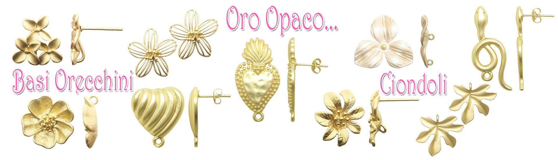 Componenti Oro Opaco